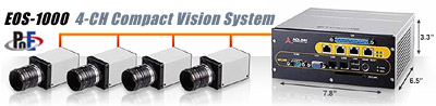 EOS-1000 4-CH Compact Vision System
